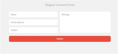 Top 30 Free Html5 Css3 Contact Form Templates 2018 Colorlib Contact Form Template