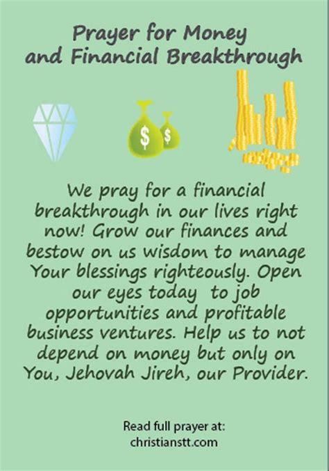 financial overflow 10 bible principles to unlock heaven s unending supply books prayer for money and financial breakthrough