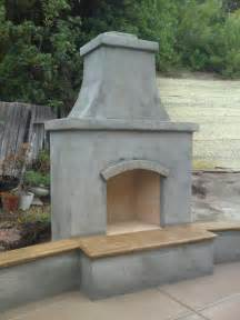 Concrete Outdoor Fireplace - another outdoor fireplace masonry picture post contractor talk