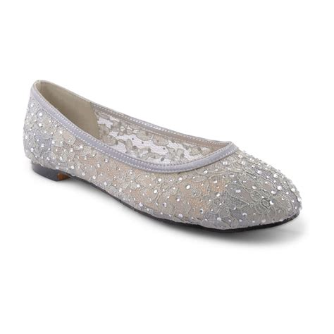 Flat Evening Shoes by New Womens Flat Ballet Loafer Shoes Bridal Wedding