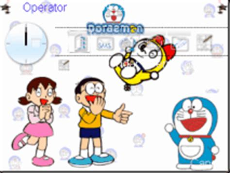 doraemon themes for nokia e5 download tema ponsel tema doraemon untuk nokia