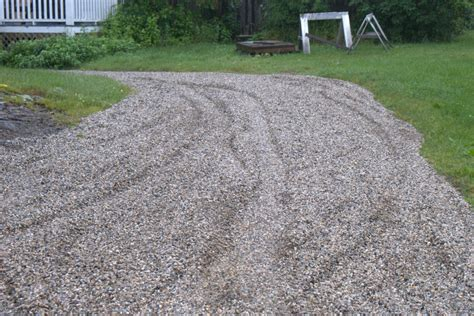 crushed rock driveways diy crafts