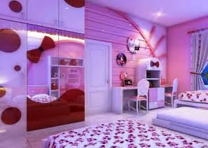 Hello kitty room ideas amazing purple colors theme in beauty bedroom