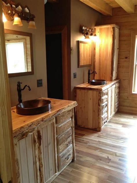 rustic cabin bathroom ideas cool rustic bathroom ideas for your home