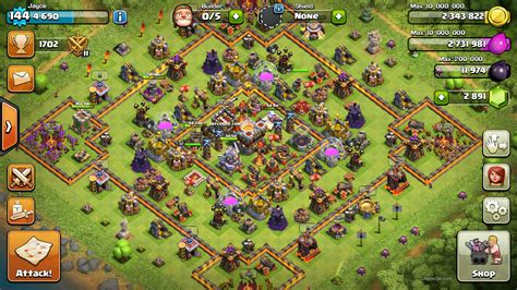 Th11 Clash Of Clans Best Base Layouts | best clash of clans th11 unlurable cc war trophy base