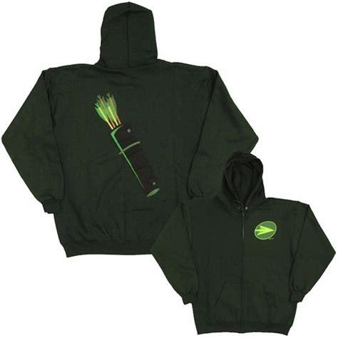 Hoodie Arrow Logo green arrow quiver hoodie