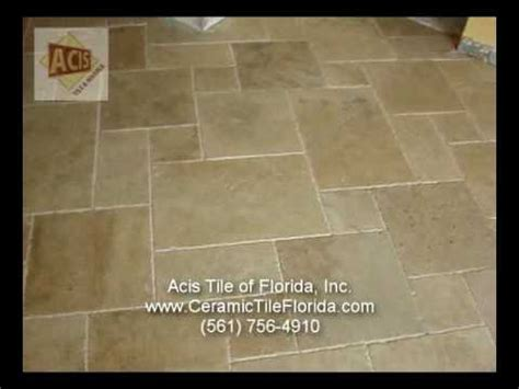 diagonal pattern installing marble travertine how to youtube