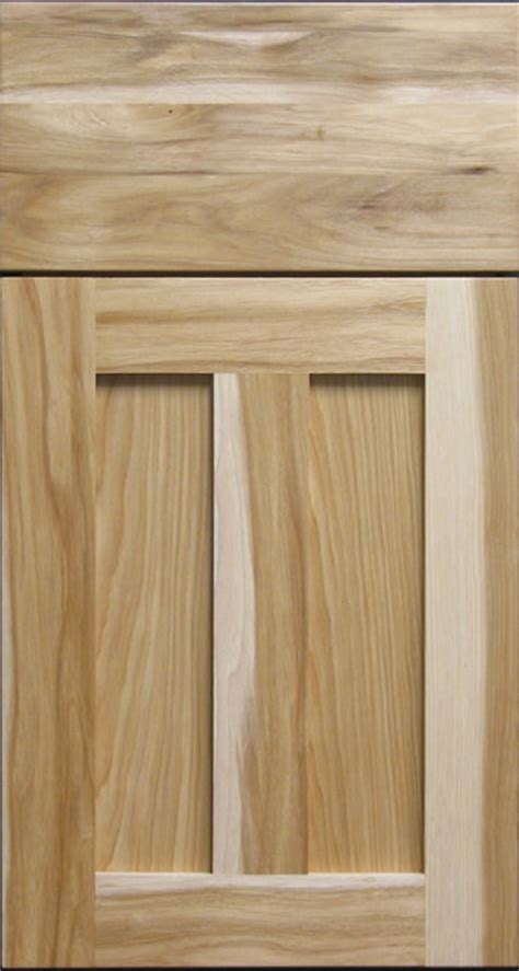 rustic kitchen cabinet doors natural hickory shaker cabinet door solid drawer front