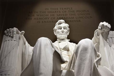 president lincoln memorial come and see the mighty lincoln memorial