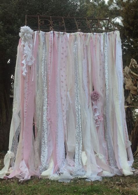 shabby chic shower curtains ashwell best 25 rag curtains ideas on scrap fabric