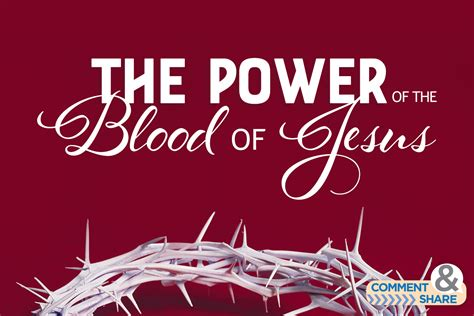The Of Blood the power of the blood of jesus kenneth copeland