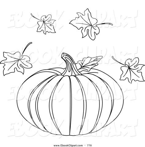 pumpkin leaf coloring pages pumpkin leaf printable clipart clipart suggest
