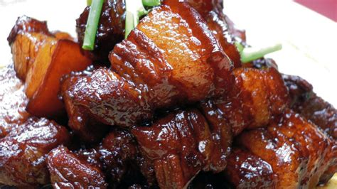 Porkbelly Black Sauce the secret to this melt in your pork is in the soy sauce npr
