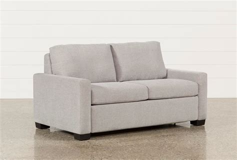 Sleeper Sofa Living Spaces Mackenzie Silverpine Sofa Sleeper Living Spaces