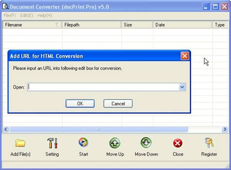 format file url how to convert url to ps using document converter