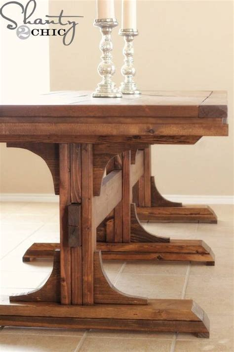 how to make your own dining room table friday diy make your own dining room table sa d 233 cor