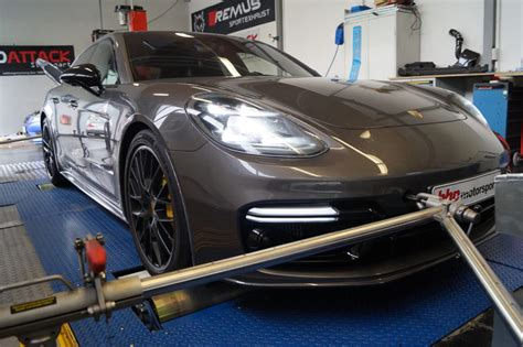 Porsche Panamera Chiptuning by Tuningbox Porsche Panamera Turbo 550 Ps Chiptuning Bhp
