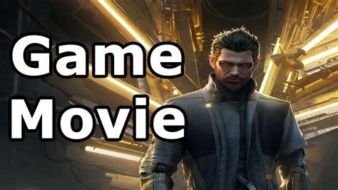 deus ex movie deus ex mankind divided all cutscenes game movie youtube
