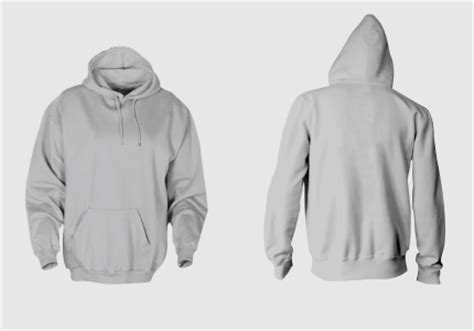sweater template psd template kaos hoodie tanpa resleting format cdr