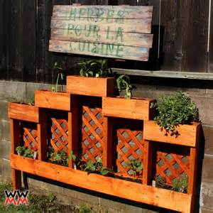 make an herb garden planter woodworking for mere mortals
