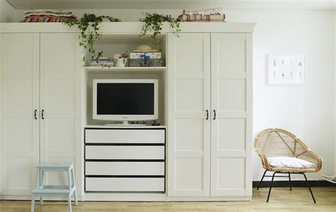 Wardrobe With Tv Space by Ideas