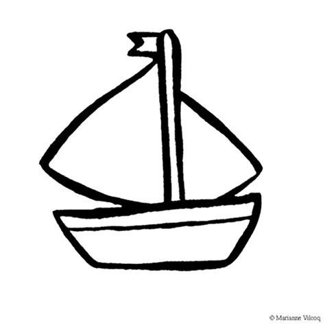dessin bateau simple dessin facile bateau
