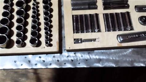 socket organizer tray diy storage trays for my socket set