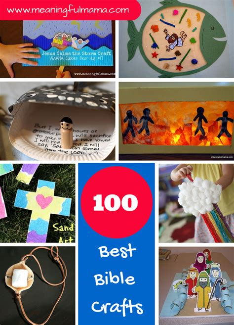 100 best bible crafts and activities for bible - Bible Crafts For