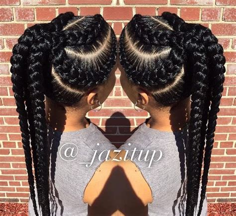 black hairstyles for miami stylist feature love these cornrows styled by