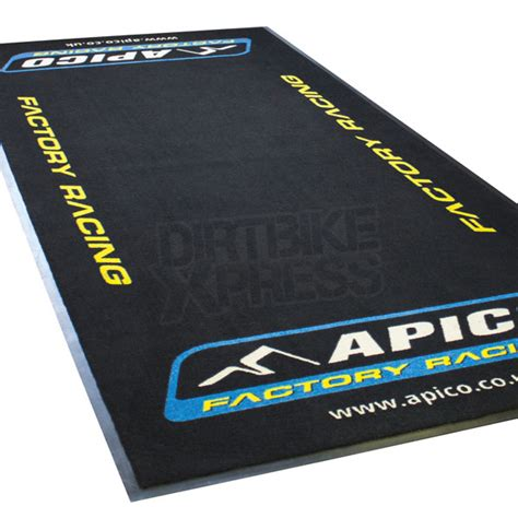 apico factory racing pit mat dirtbikexpress