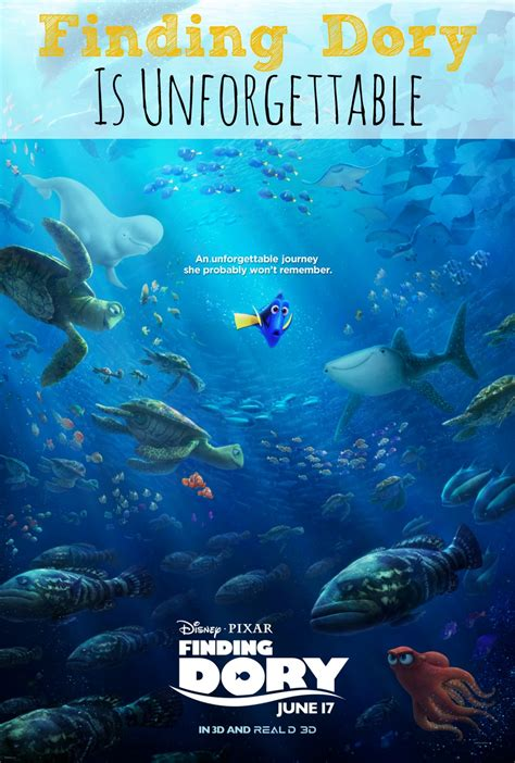 An Unforgettable Family Finding Dory finding dory is unforgettable findingdory abc creative