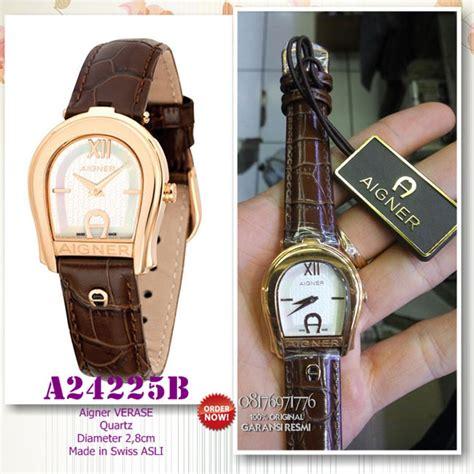 Sale Jam Tangan Wanita Aigner Hb954 Brown promo jam tangan mewah aigner a24225b original