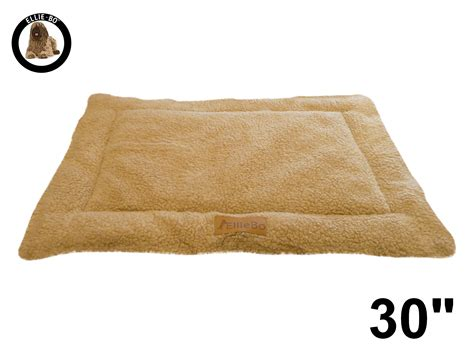 Bo Mat by Ellie Bo Beige Sherpa Fleece Cage Mat To Fit Ellie Bo 30 Inch Cage Only Cages Co Uk