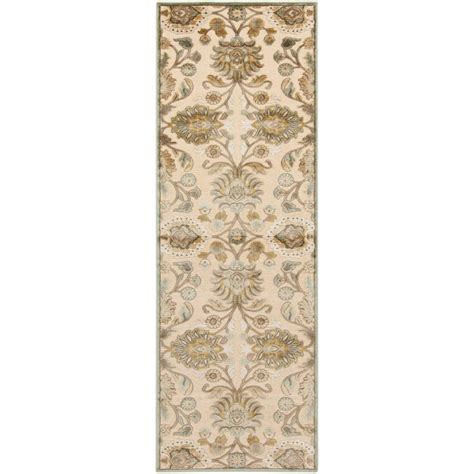 viscose and chenille rugs artistic weavers ivory viscose chenille runner 2 ft 6 in x 7 ft 10 in area rug