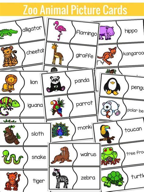 Zoo Animal Activities Clip Art Library
