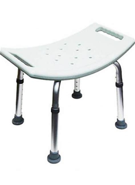 Waterproof Shower Stool by Shower Stool Waterproof White Adjustable