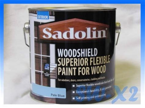 sadolin exterior wood paint sadolin woodshield 2 5l pale blue exterior paint superior