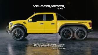 Ford Raptor Hennessey Velociraptor 6x6 Hennessey Performance