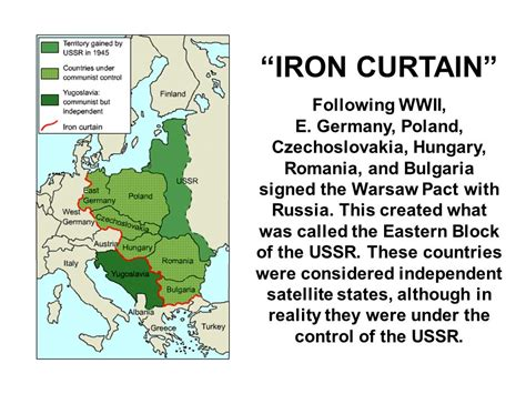How Did The Iron Curtain Affect The Cold War Apus A Pw