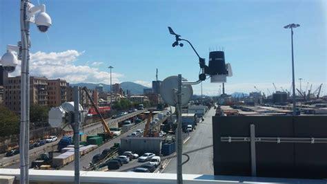 terminal san giorgio porto di genova meteo system installazioni