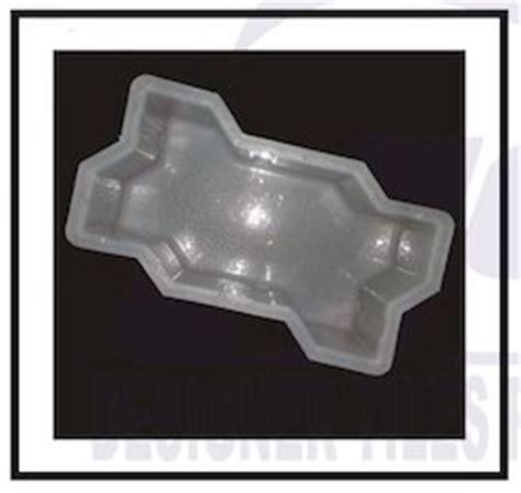 js pattern and mould plastic paver tile mould zigzag plastic paver block