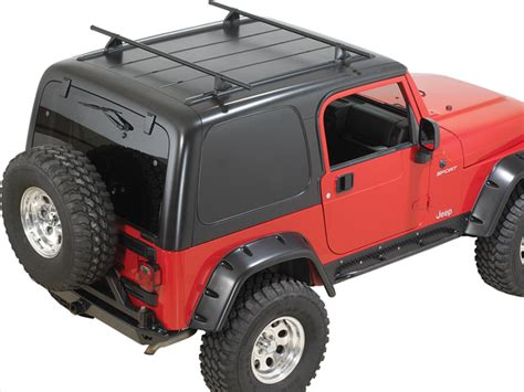 Roof Rack For Jeep Wrangler Unlimited Soft Top Yakima 8001614 Yakima Hardtop Roof Rack For 87 06 Jeep