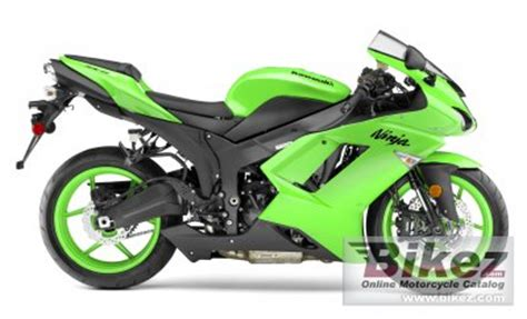 2008 kawasaki ninja zx 6r specifications and pictures