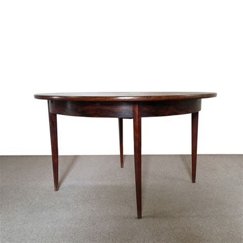 rosewood dining table artichoke vintage furniture