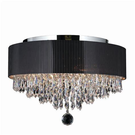 chrome flush mount light worldwide lighting gatsby 4 light chrome flushmount with