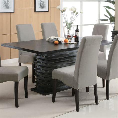coaster fine furniture stanton wood dining table  lowescom