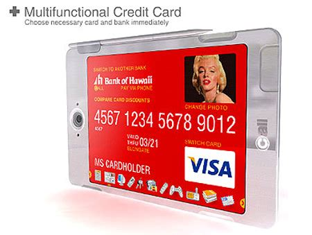 Concept Of Future Credit Card by Feature Credit Cards Of The Future Techeblog