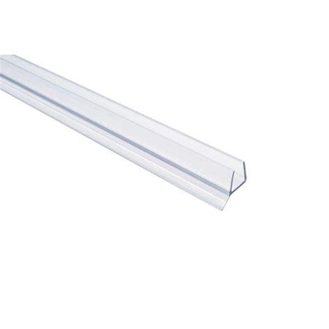 Shower Door Sealant Showerdoordirect 36 In Frameless Shower Door Seal With Wipe For 1 2 In Glass In Clear 12ddbs36