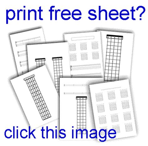 blank fretboard worksheet the best and most