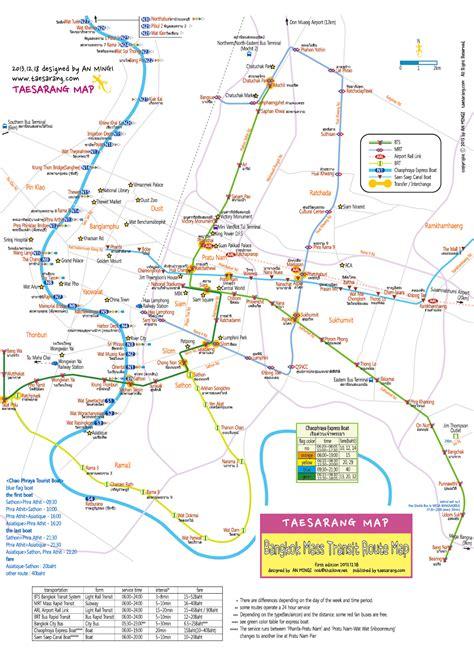 chao phraya express boat route taesarang thailad map bangkok mass transit route map